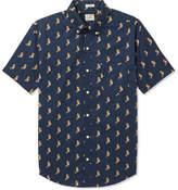 J.Crew Slim-Fit Button-Down Collar Printed Cotton Shirt
