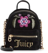 Juicy Couture Folklore Floral Velour Micro Backpack