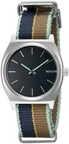 Nixon Women's A0452079 Time Teller Stainless Steel Watch With Multi-Color Band