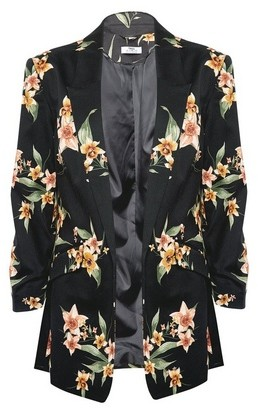 Dorothy Perkins Womens Dp Tall Floral Print Jacket