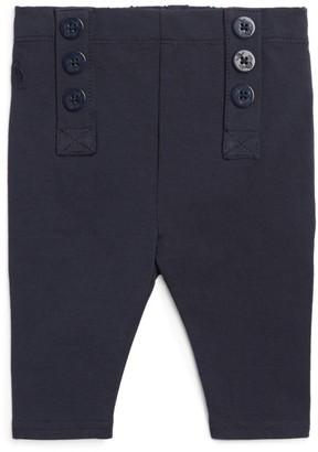 Ralph Lauren Kids Button-Down Leggings