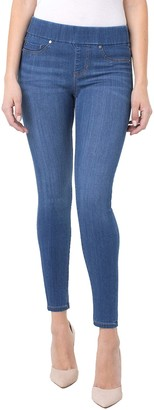 Liverpool Women's Sienna Pull-on Ankle Silky Soft Denim Jeans