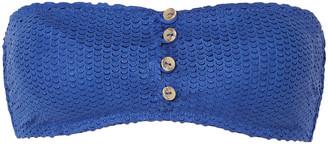 Vix Paula Hermanny Scales Bandeau Bikini Top