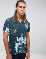 Selected Homme+ Short Sleeve Shirt With All Over Floral