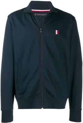 Tommy Hilfiger logo patch embroidered jacket