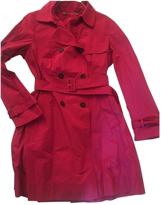 Max Mara Weekend Pink Trench Coat for Women