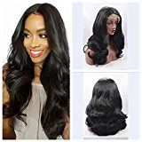 EO Synthetic Glueless Lace Front Wig Long Wave Real Picture 24inch Stock (20in)