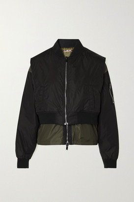 AARMY Printed Shell Jacket - Black