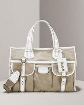 Dolce & Gabbana Linen & Patent Tote