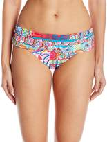 Bleu Rod Beattie Bleu | Rod Beattie Women's the New Cool Sarong Hipster Bikini Bottom