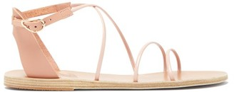 Ancient Greek Sandals Meloivia Leather Sandals - Light Pink