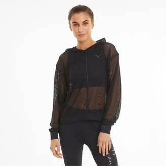 Puma Untamed Women's Mesh Training Hoodie