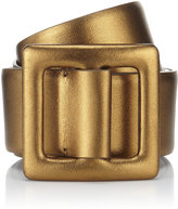 Metallic Trench Buckle Belt