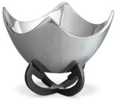 "Nambe 9"" Anvil Scroll Bowl"