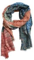 Violeta BY MANGO Floral print scarf