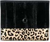Corto Moltedo leopard card holder