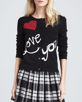 Alice + Olivia Love You Knit Cardigan