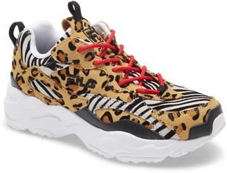 Fila Ray Tracer Animal Print Sneaker