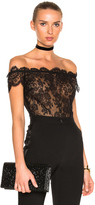 I.D. Sarrieri Off the Shoulder Bodysuit