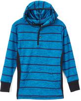 Smiths American Black Stripe Long-Sleeve Hoodie - Toddler & Boys