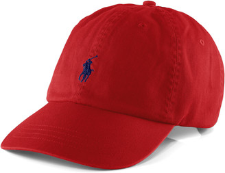 Ralph Lauren Cotton Chino Baseball Cap