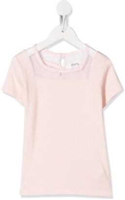 Bonpoint lace detail T-shirt