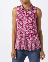 Monsoon Yoshe Patch Paisley Sleeveless Shirt