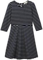 Soprano Knit Embellished Stripe Dress (Little Girls & Big Girls)