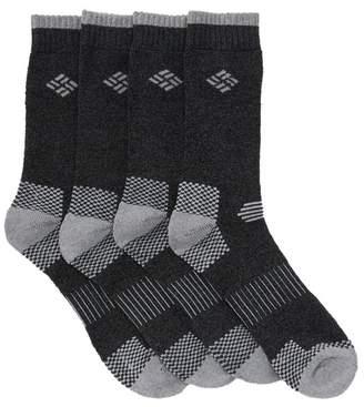 Columbia Crew Socks - Pack of 4