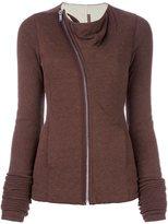 Rick Owens Lilies mollino jacket - women - Cotton/Polyamide/Polyester/Angora - 40