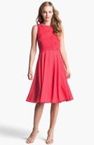 Isaac Mizrahi New York Soutache Fit & Flare Dress