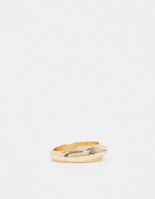 NY:LON Gold Twist Ring