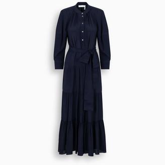 Chloé Navy Chemisier long dress