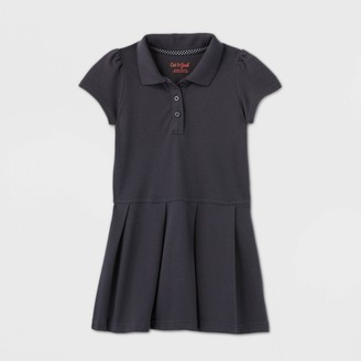 Cat & Jack Toddler Girls' Short Sleeve Pleated Uniform Tennis Dress - Cat & JackTM