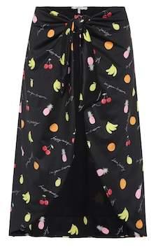 Ganni Exclusive to mytheresa.com – printed swim skirt