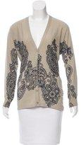 Etro Wool & Silk-Blend Cardigan