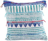 Karma Living Block Printed Pillow - 20 x 20 - Blue