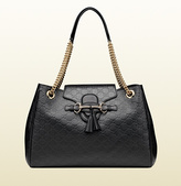 Gucci Emily Guccissima Leather Shoulder Bag