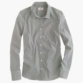J.Crew Petite stretch perfect shirt in classic stripe