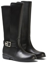 Michael Kors Tall Black Leather Contrast Boots