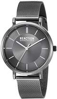 Kenneth Cole Reaction Women's Quartz Metal and Stainless Steel Casual Watch, Color:Grey (Model: RK50105002)