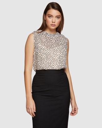 Oxford Darcy Spot Shell Top