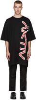 Perks And Mini Black Oversized Aktiv T-Shirt