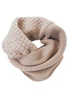 Waffle Knit Circle Scarf