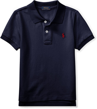 Ralph Lauren Kids Short-Sleeve Logo Embroidery Polo Shirt, Size 4-7