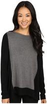 Karen Kane Color Block Sweater Knit Top