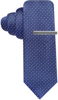 Alfani Men's Blue Skinny Tie, Created for Macy's