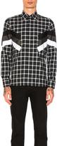 Neil Barrett Modernist Tartan Shirt
