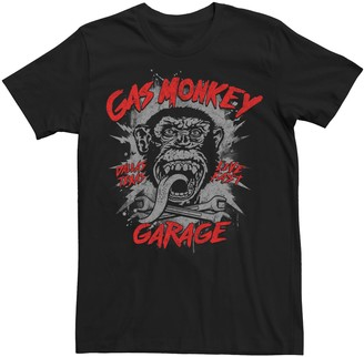 Men's Gas Monkey Garage Live Fast Graphic Tee