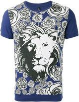 Versus all-over print T-shirt - men - Cotton - S
